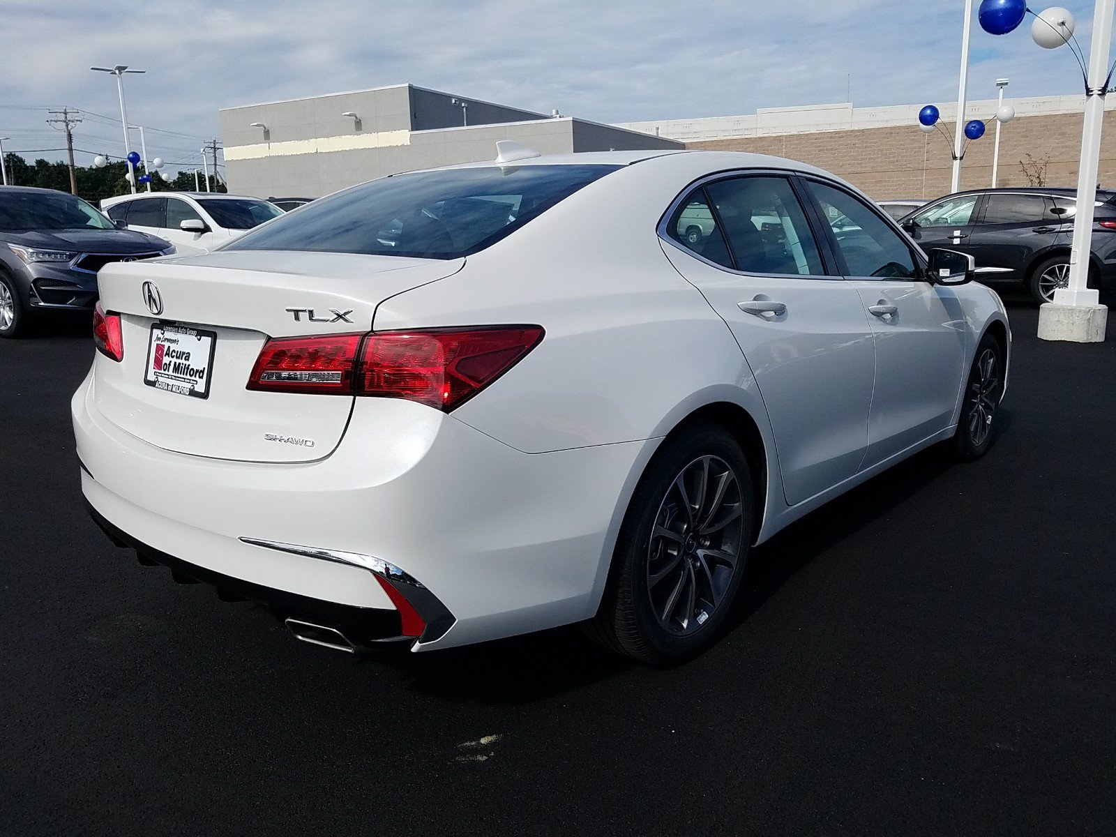 New 2020 Acura TLX 3.5L SH-AWD