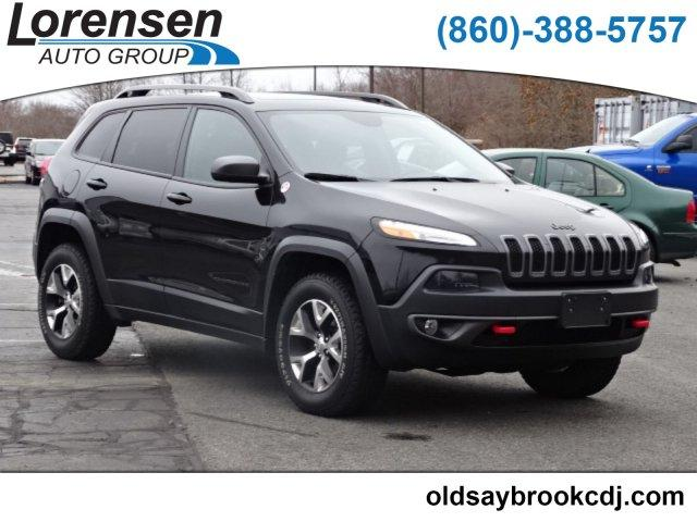 Certified Pre-Owned 2016 Jeep Cherokee 4WD 4dr Trailhawk