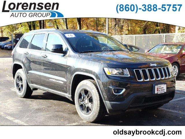 Certified Pre-Owned 2016 Jeep Grand Cherokee 4WD 4dr Laredo