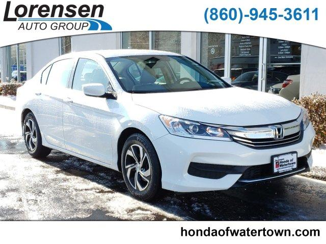 Certified Pre-Owned 2017 Honda Accord LX CVT