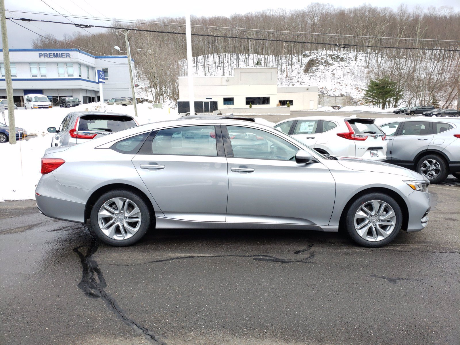 Certified Pre-Owned 2020 Honda Accord Sedan LX 1.5T