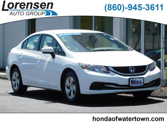 Certified Pre Owned Honda >> Certified Pre Owned 2015 Honda Civic 4dr Cvt Lx Fwd 4dr Car