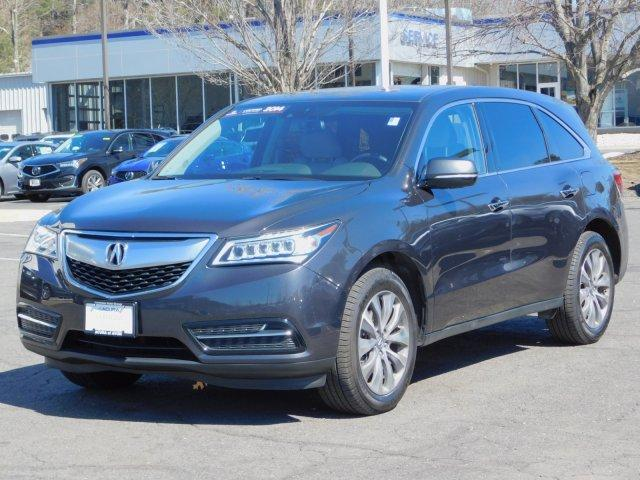 Certified Pre-Owned 2014 Acura MDX SH-AWD 4dr Tech Pkg