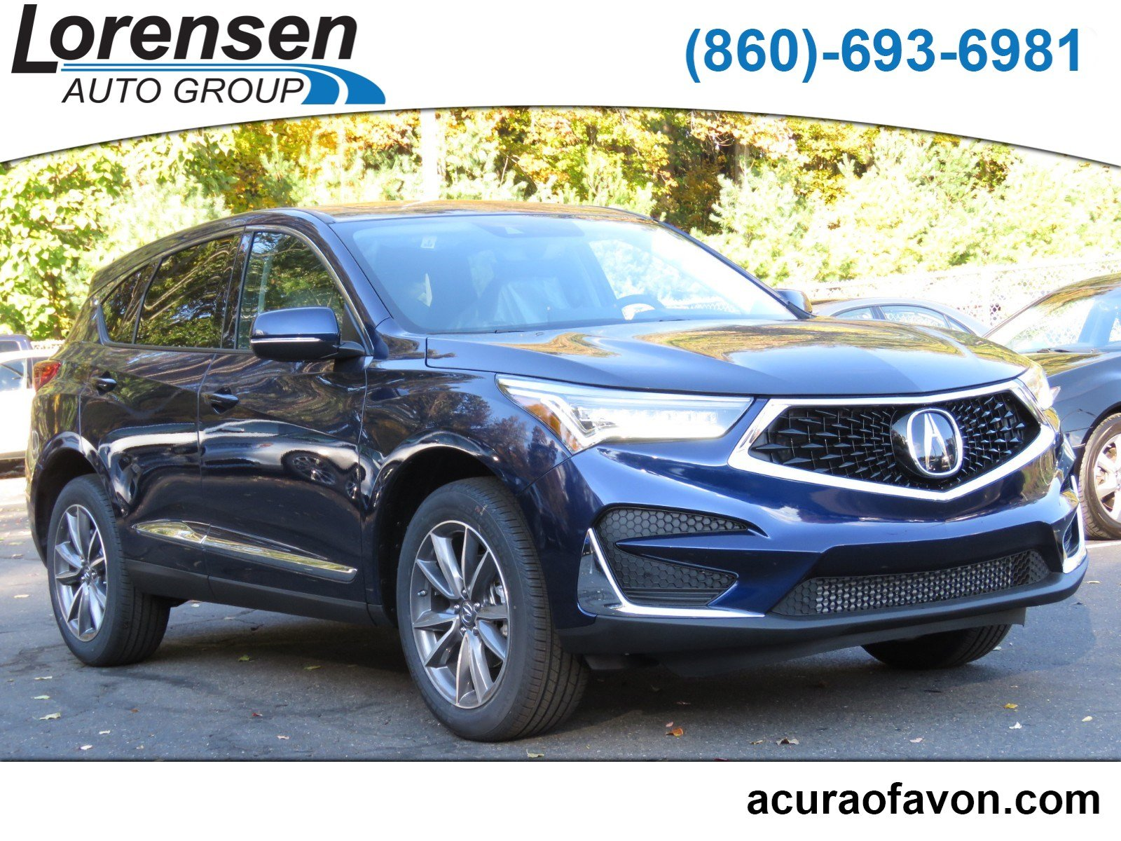 New 2019 Acura RDX w Technology Pkg Sport Utility in Westbrook