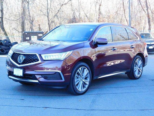 Certified Pre-Owned 2018 Acura MDX SH-AWD w/Technology Pkg