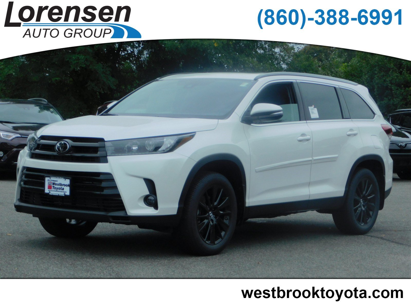New 2019 Toyota Highlander Se Sport Utility In Westbrook 19057