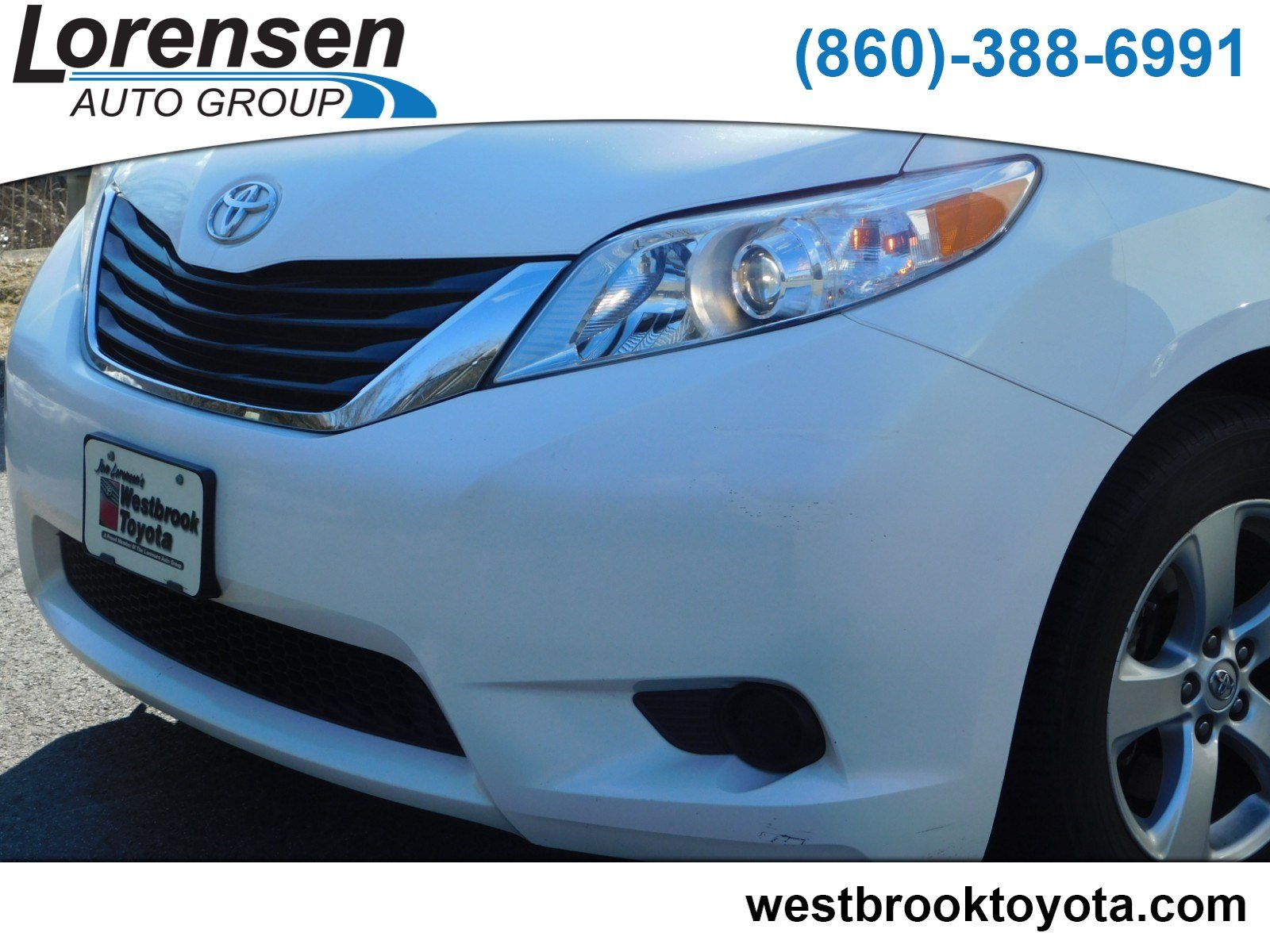 New 2014 Toyota Sienna LE