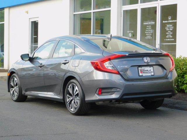 Certified Pre-Owned 2018 Honda Civic EX-T CVT