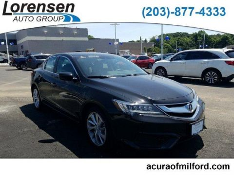 Certified Pre-Owned 2018 Acura ILX Sedan w/Technology Plus Pkg