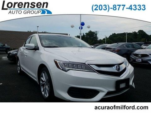 Certified Pre-Owned 2017 Acura ILX Sedan w/Technology Plus Pkg