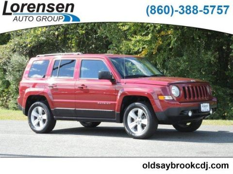 Certified Pre-Owned 2016 Jeep Patriot 4WD 4dr Latitude