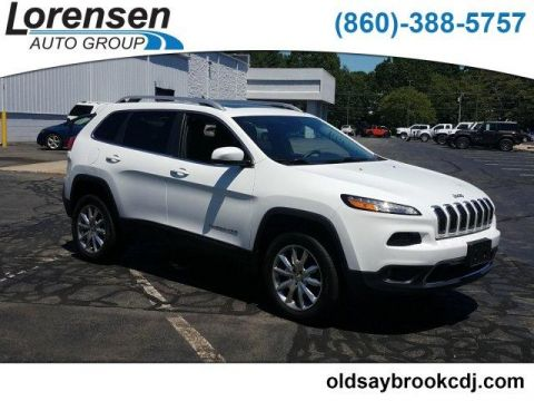 Certified Pre-Owned 2016 Jeep Cherokee 4WD 4dr Limited