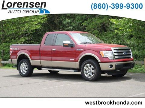 Pre-Owned 2014 Ford F-150 4WD SuperCab 145 Lariat