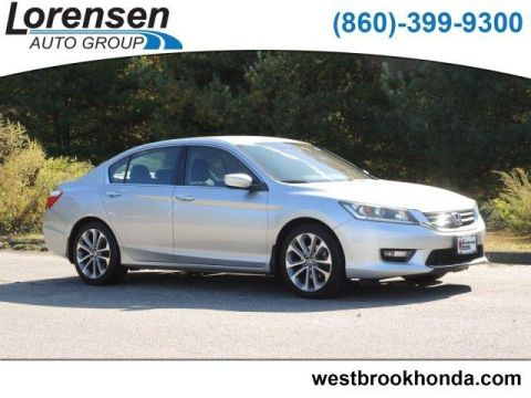 Pre-Owned 2014 Honda Accord 4dr I4 CVT Sport PZEV