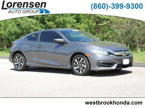 Certified Pre-Owned 2016 Honda Civic 2dr CVT LX-P