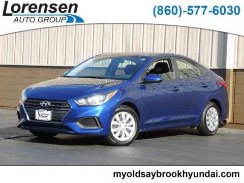 Certified Pre-Owned 2018 Hyundai Accent SE Sedan Auto