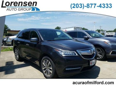 Certified Pre-Owned 2016 Acura MDX SH-AWD 4dr w/Tech