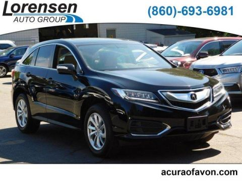 Certified Pre-Owned 2016 Acura RDX AWD 4dr Tech Pkg