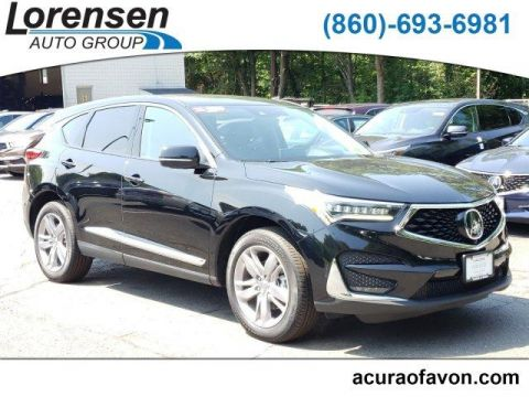 Certified Pre-Owned 2019 Acura RDX AWD w/Advance Pkg