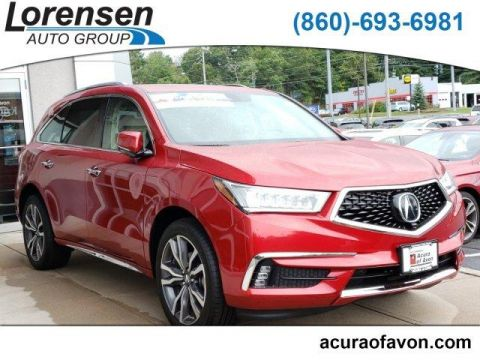 New 2019 Acura MDX SH-AWD w/Advance Pkg