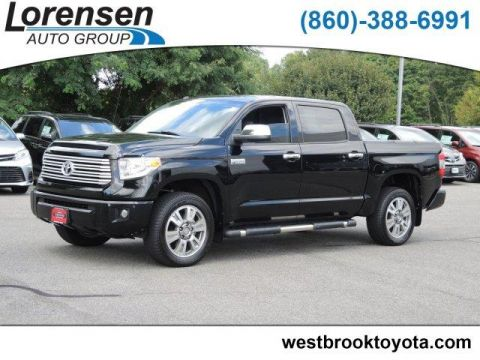 Certified Pre-Owned 2017 Toyota Tundra 4WD Platinum CrewMax 5.5' Bed 5.7L