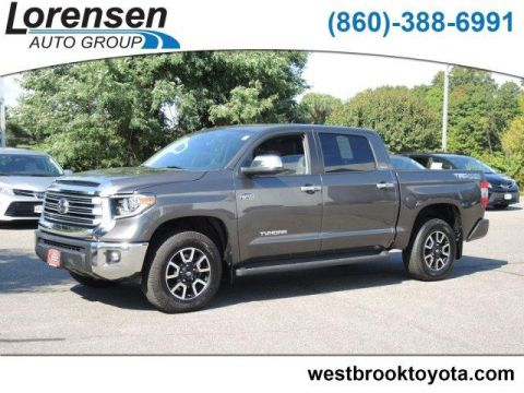 Certified Pre-Owned 2018 Toyota Tundra 4WD Limited CrewMax 5.5' Bed 5.7L