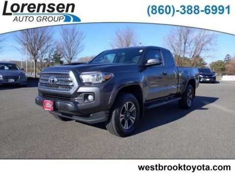 Certified Pre-Owned 2017 Toyota Tacoma TRD Sport Access Cab 6' Bed V6 4x4
