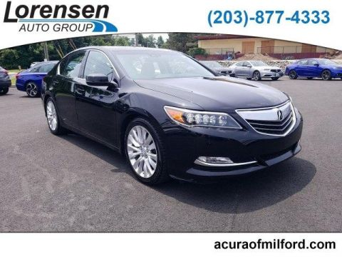 Certified Pre-Owned 2015 Acura RLX 4dr Sdn Tech Pkg